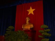 ホー主席の胸像