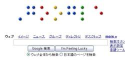 Google Top page image shot